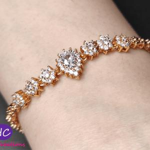 gold plated bracelet price in pakistan 2021 Online