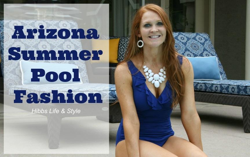 Arizona Summer Pool Fashion