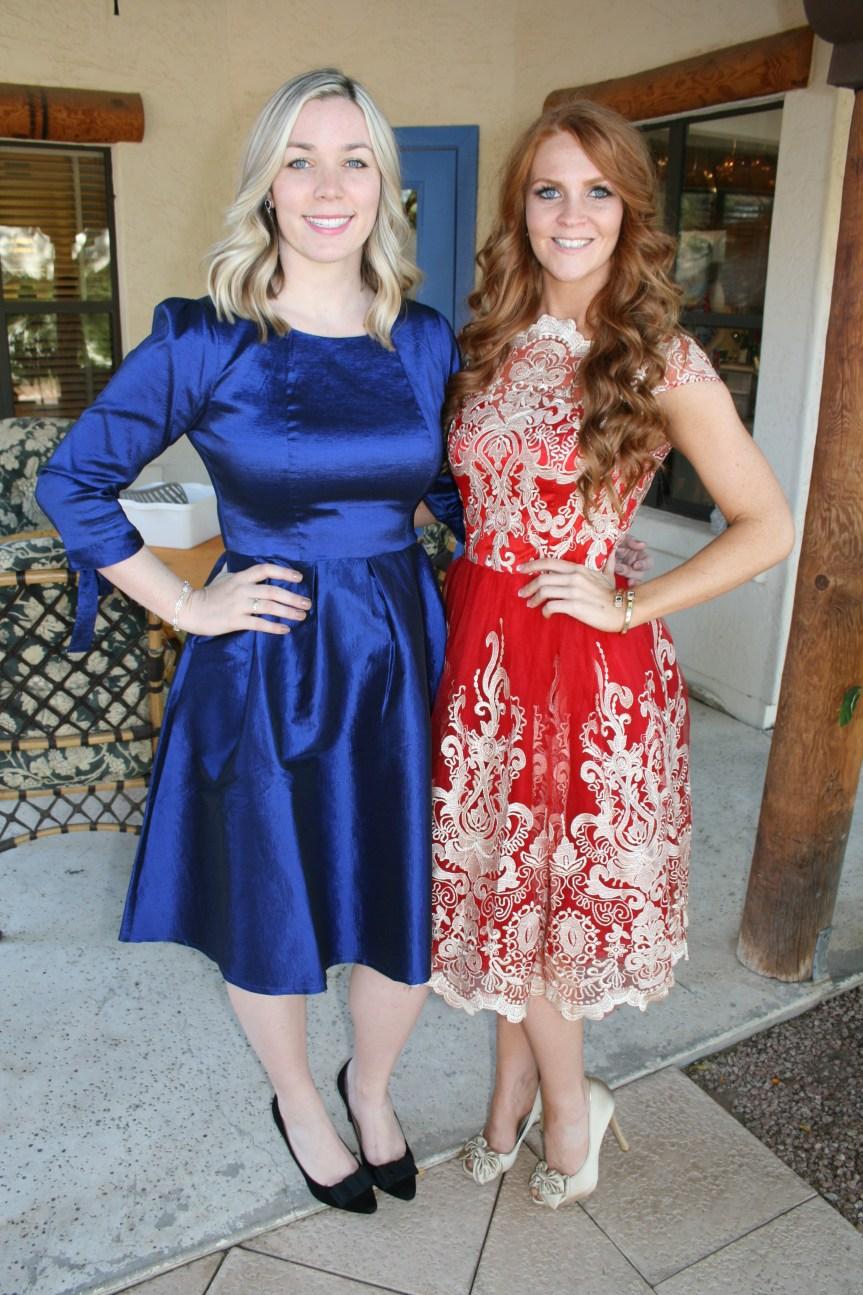 Jordan and Bella Thanksgiving Dresses