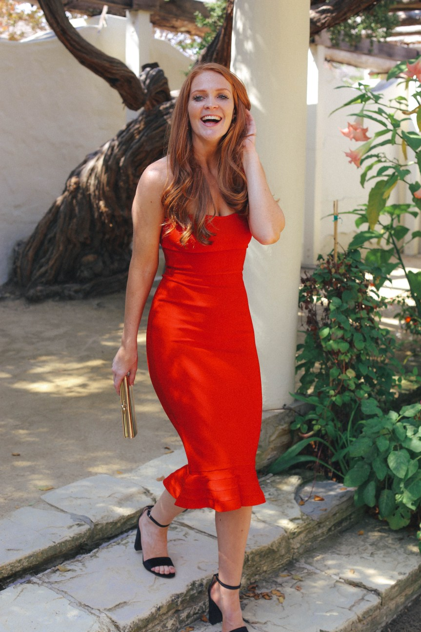 Finding the perfect red dress for your date night