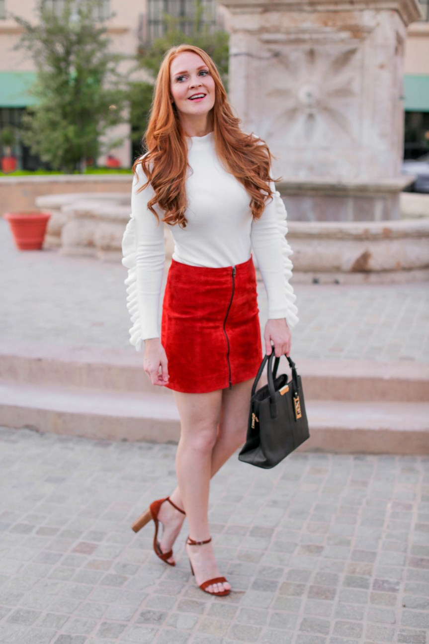 Fall Inspiration Mini Skirt by Bella Hibbs of Hibbs Life and Style (11)