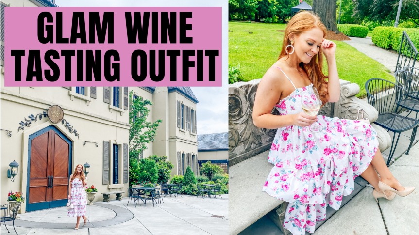 Glam Wine Tasting Outfit