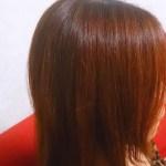 明るい白髪染めをしてきました♪写真で見比べてください