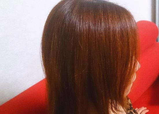 明るい白髪染め