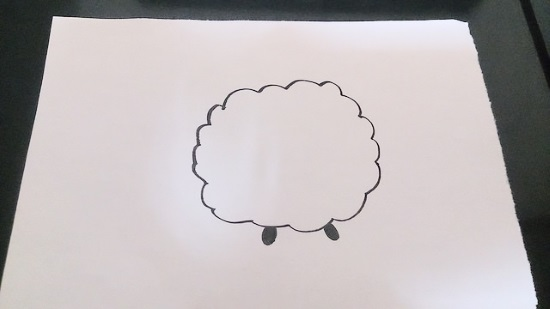 簡単な羊2