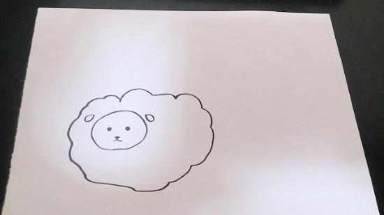 羊の書き方4