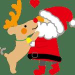 無料のクリスマスイラスト素材☆保育園・幼稚園のお便りに♪