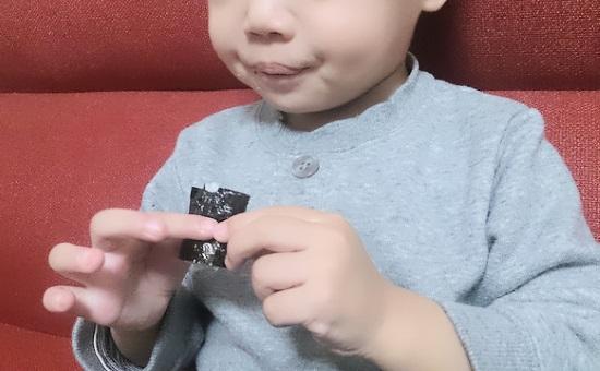 一歳からの恵方巻き
