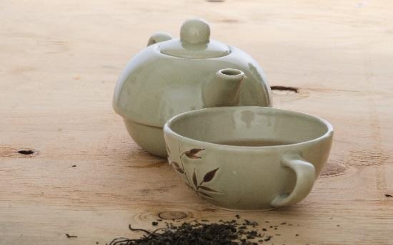 恵方巻きに福茶