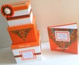 Hibiscus events - Urne et livre d'or en wax - mariage en wax - Décoration en wax