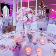 Les chandeliers blancs fleuris