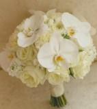 bouquet de mariée blanc