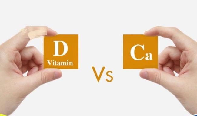 uống vitamin d3 và canxi cùng lúc có được không