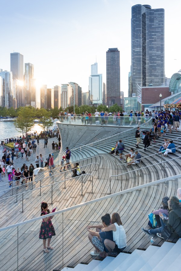 Narchitects Pierscape -shaping Chicago Navy Pier
