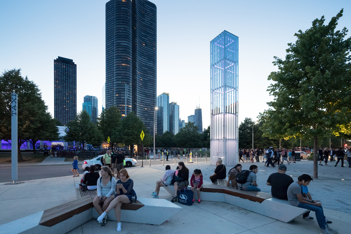 nARCHITECTS  Pierscape Reshaping Chicago Navy Pier  HIC Arquitectura