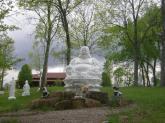 Buddha image in Kentucky.