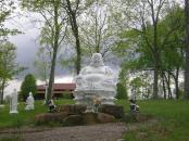 Buddha image in Kentucky.