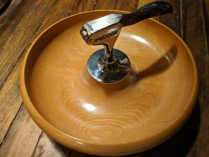 nut bowl with built in nut cracker
