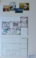 Inspiration Images + Floor Plan, 1st Fl.