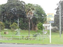 Outside the Russell Vale Golf Course at Hicks St Russell Vale (2012)