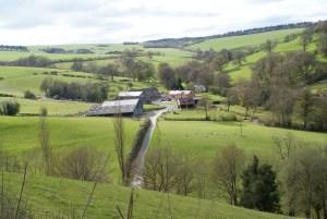 Hicks Farm aerial