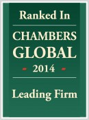 Chambers Global 2014 Leading Firm Image