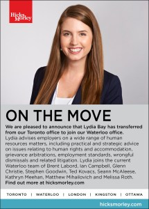 Lydia Bay Moving Ad