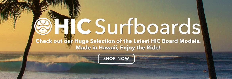 HIC Surfboard website