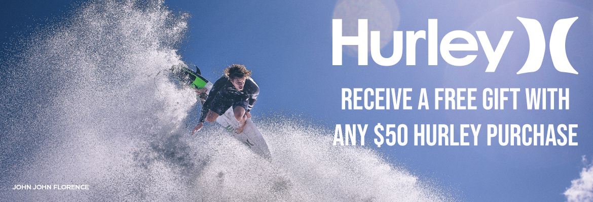 Hurley Gifts with purchase