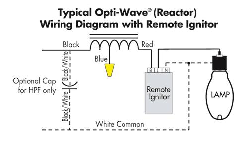 wiring diagram hps light