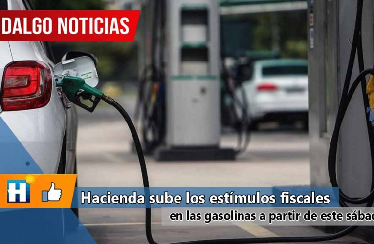 Hacienda sube los estímulos fiscales en las gasolinas a partir de este sábado