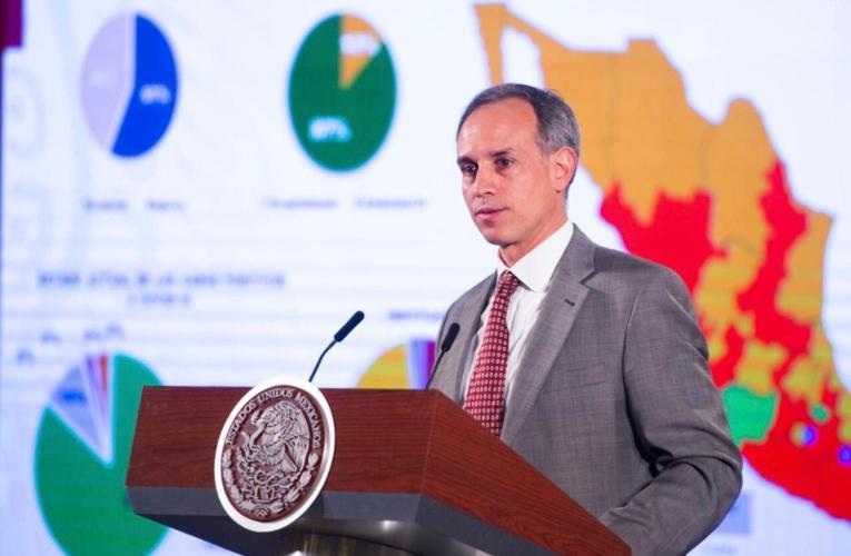 """""""Imposible determinar cuándo terminará la pandemia en todo el país"""", reitera el subsecretario López-Gatell"""