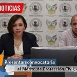 Presentan convocatoria al Mérito de Protección Civil, edición 2020