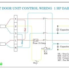 Daikin Split System Wiring Diagram Pollak 6 Port Valve Outdoor | Refrigeration & Air Conditioning