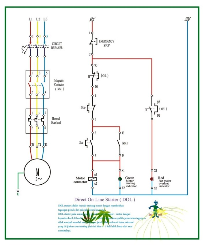 L T Acb Control Wiring Diagram Direct On Line Starter Dol Refrigeration Amp Air