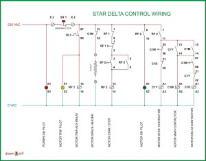 Star Delta Wiring Diagram | REFRIGERATION & AIR CONDITIONING