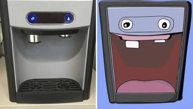 Photo of Dispenser Rusak