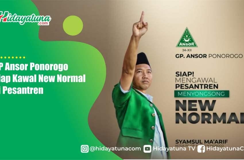 GP Ansor Ponorogo Siap Kawal New Normal di Pesantren