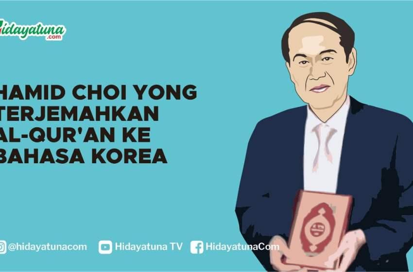 Hamid Choi Yong Terjemahkan Alquran ke Bahasa Korea