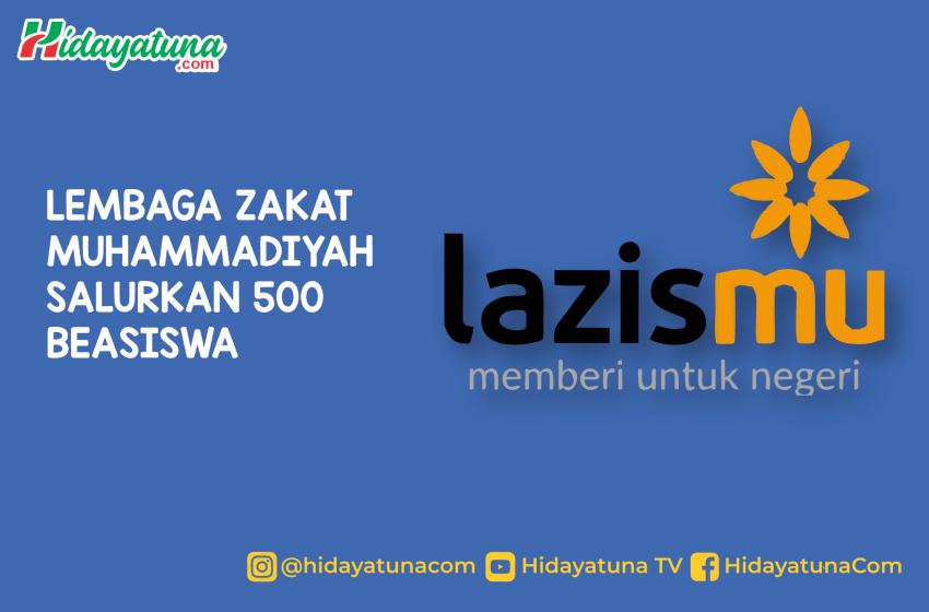 Lembaga Zakat Muhammadiyah Salurkan 500 Beasiswa