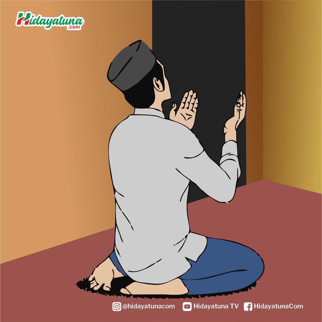 Sikap Muslim Menghadapi Musibah (Ilust/Hidayatuna)