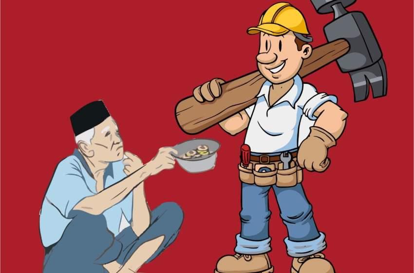 Rasulullah SAW Mengajarkan Bekerja, Bukan Minta-Minta