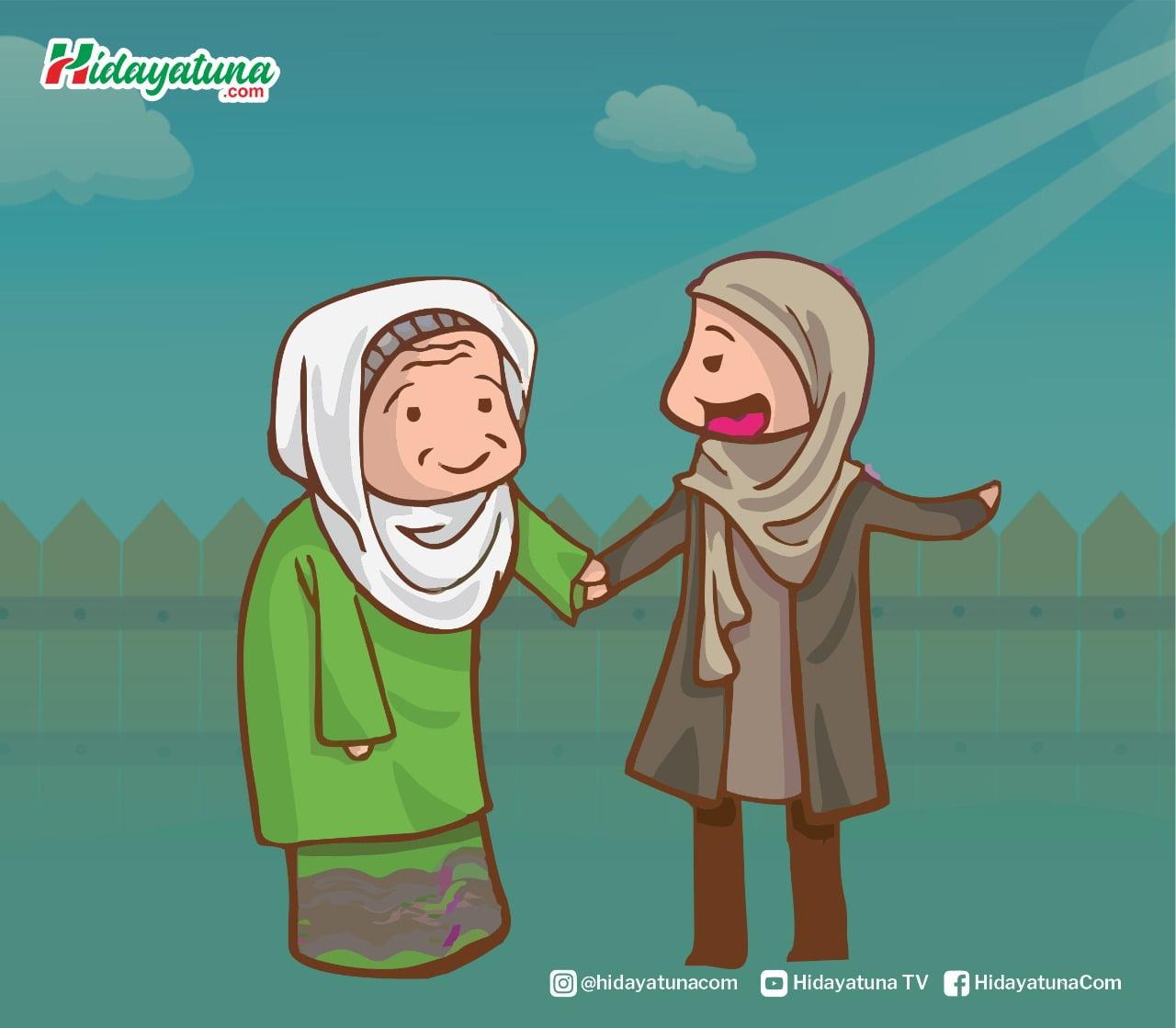 Menjadi manusia yang terbaik dengan menebar manfaat pada orang lain (Ilustrasi/Hidayatuna)