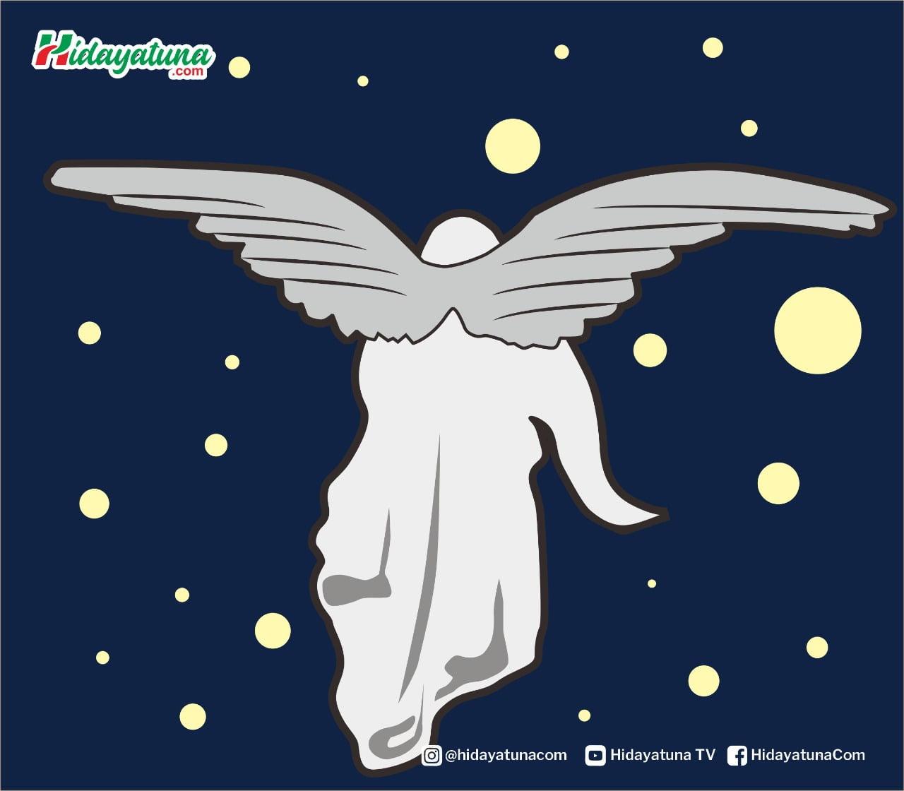 Malaikat Penjaga Neraka (Ilustrasi/Hidayatuna)