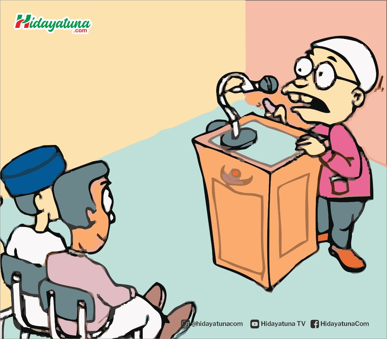 Nahi Mungkar dan Dakwah Progresif (Ilustrasi/Hidayatuna)