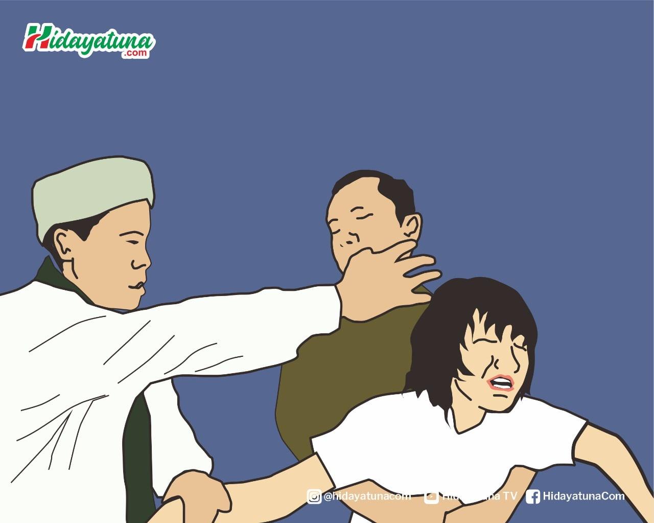 Doa dan amalan Sulaiman untuk orang kesurupan (Ilustrasi/Hidayatuna)