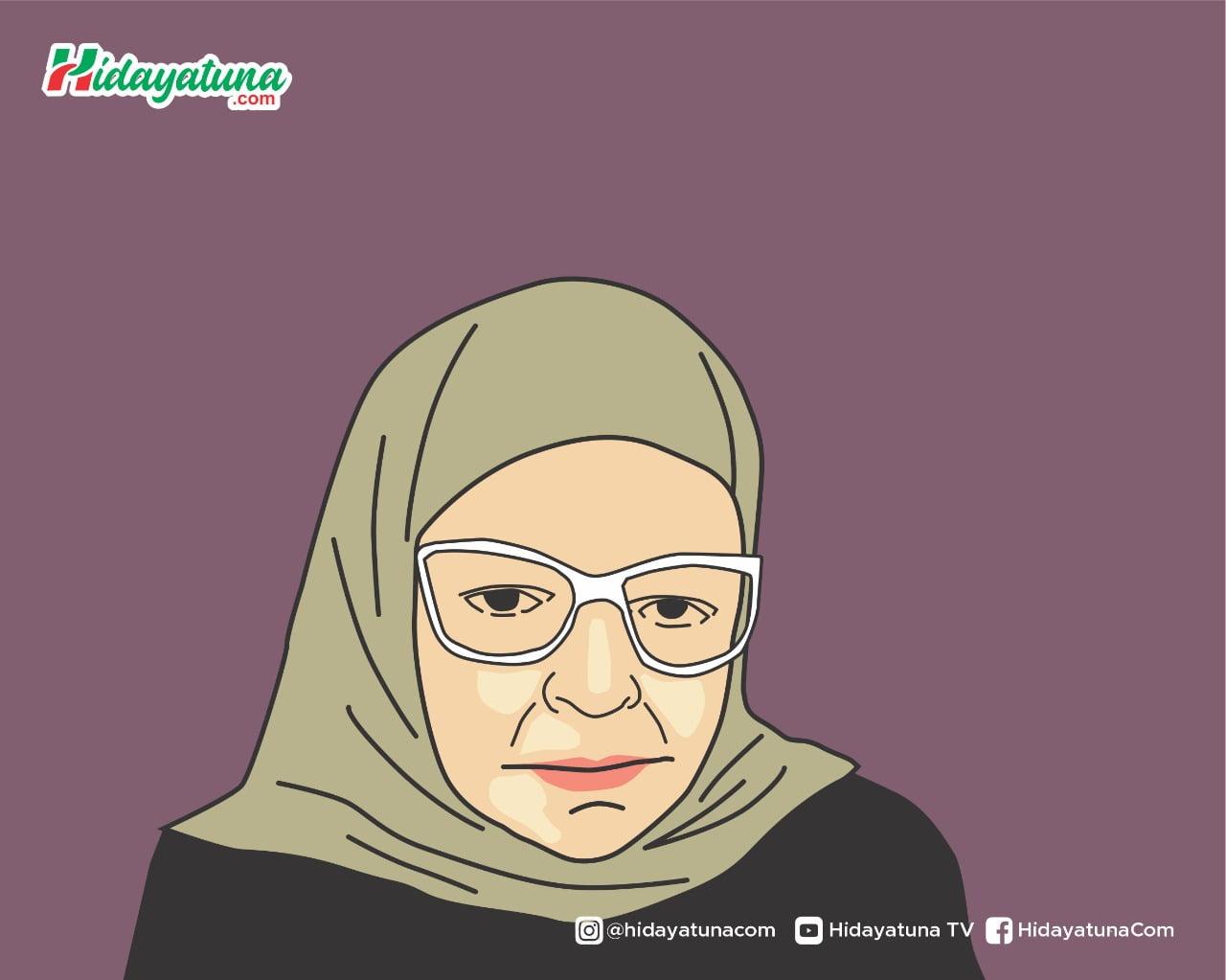 Aisyah Abd Al-Rahman (Ilustrasi/Hidayatuna)