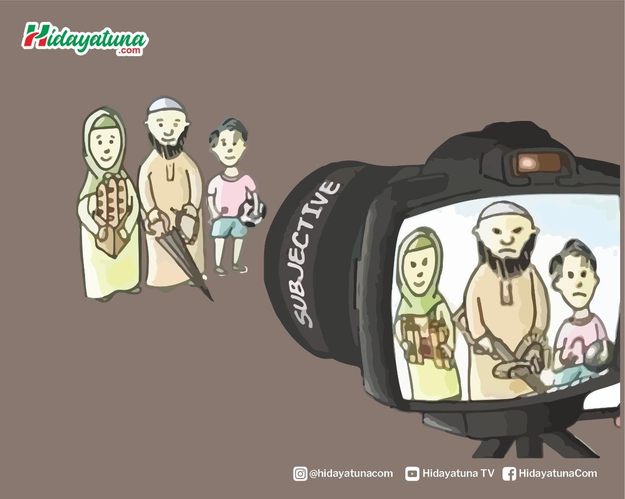 Islamofobia Sasar Muslim AS (Ilustrasi/Hidayatuna)