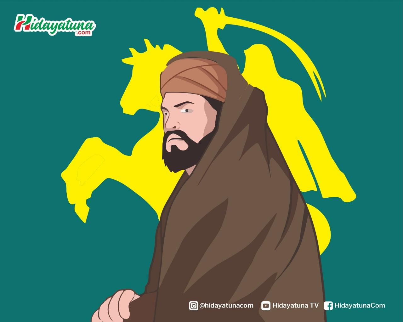 Julukan Sahabat Ali bin Abi Thalib (Ilustrasi/Hidayatuna)