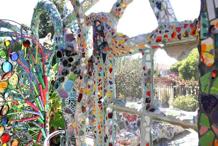 Mosaic Tile House hidden california